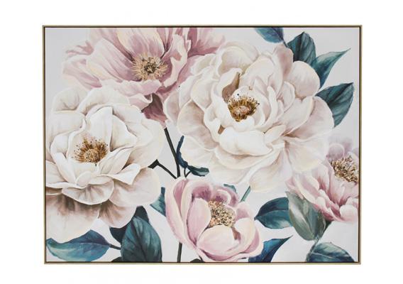 Wall Art - Framed Canvas Floral